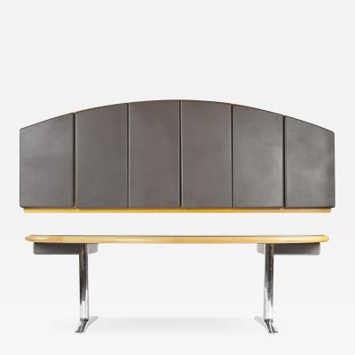 Warren Platner WARREN PLATNER EXECUTIVE DESK AND STORAGE