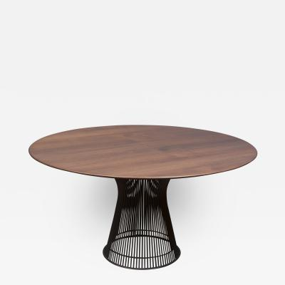 Warren Platner Warren Platner Bronze and Teak Dining Table