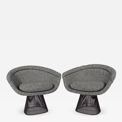 Warren Platner Warren Platner Collection Bronze Lounge Seating for Knoll Associates