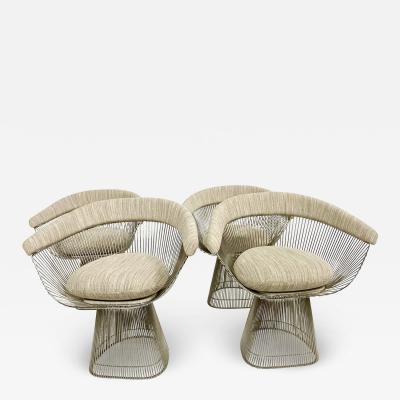 Warren Platner Warren Platner Dining Table and Chairs for Knoll Mid Century Modern