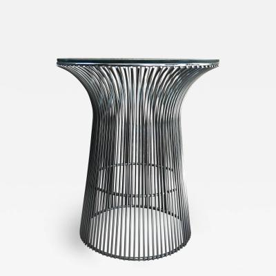Warren Platner Warren Platner Graceful Chrome Side Table for Knoll Organic Modern 1960s USA