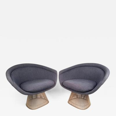 Warren Platner Warren Platner Lounge Chairs for Knoll
