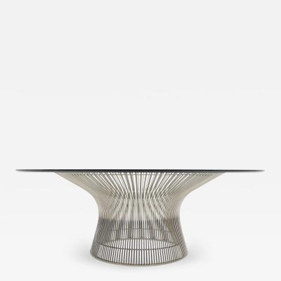 Warren Platner Warren Platner for Knoll Nickel Plated Cocktail Coffee Table