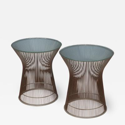 Warren Platner Warren Platner for Knoll Side Tables