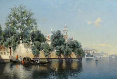 Warren W Sheppard Venice Italy