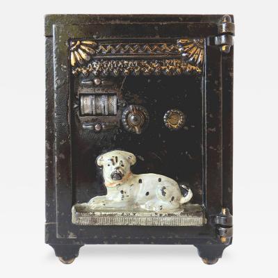 Watchdog Safe Mechanical Bank Circa 1890