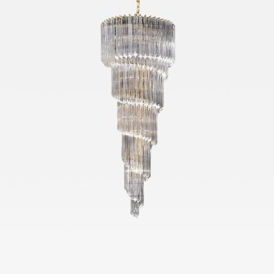Waterfall chandelier