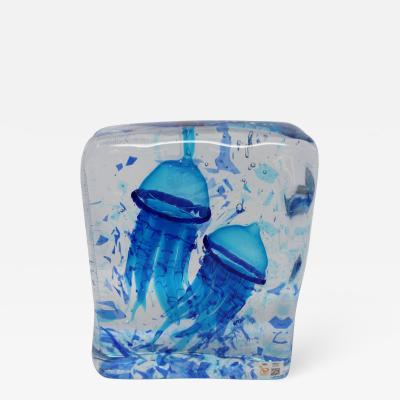 Wave Murano Glass Murano Glass Aquarium