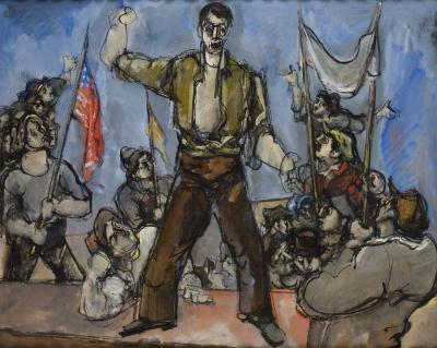 Max Weber The Rally 1934