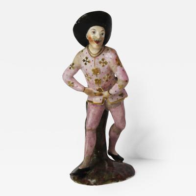 Wenzel Neu A Closter Veilsdorf Figure from The Commedia Dellarte