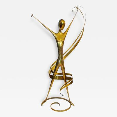 Werkst tte Hagenauer Huge Isadora Duncan Signed Hagenauer Sculpture