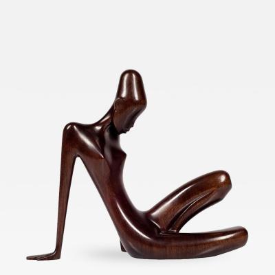 Werkst tte Hagenauer Important Figurine Werkstatte Hagenauer Precious Wood