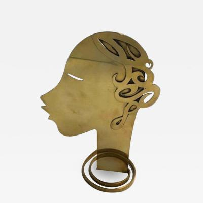 Werkst tte Hagenauer Wien Sculpture of the Head c 1930s
