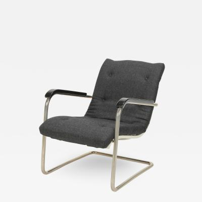 Werner Max Moser Werner Max Moser Volkssessel Cantilever Chair 30s