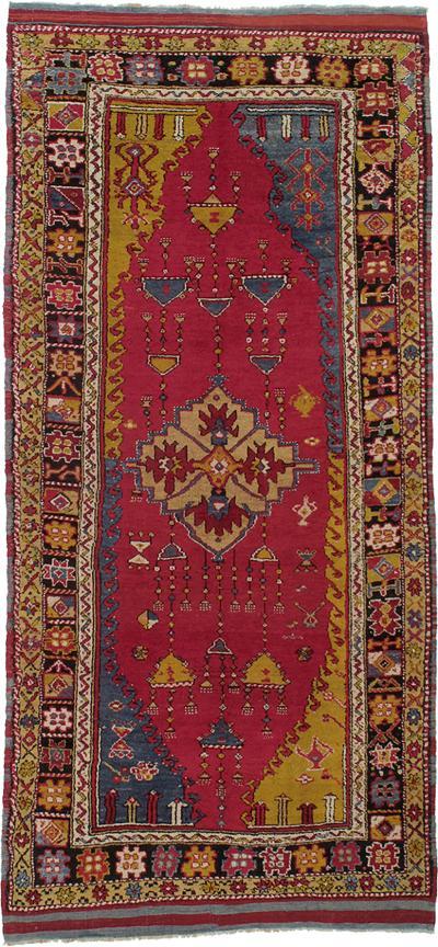 West Anatolian Long Rug DK 89 17