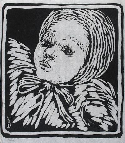 Wharton Esherick Baby 1922
