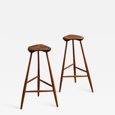 Wharton Esherick Pair of Stools