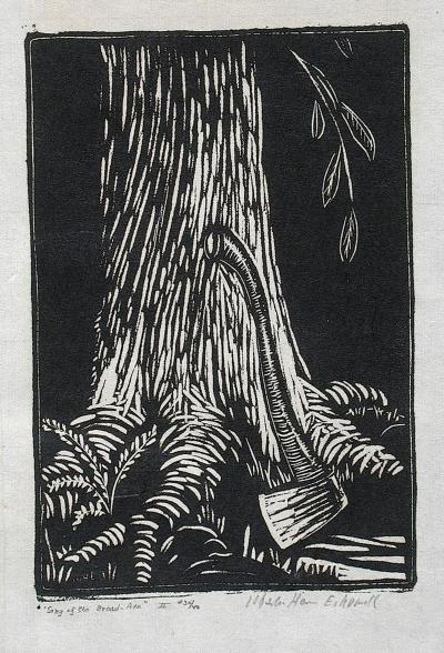 Wharton Esherick Song of the Broad Axe II 1924