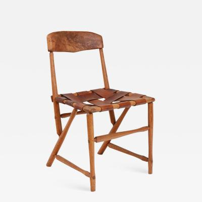 Wharton Esherick Wharton Esherick Ash Hickory Leather Hammer Handle Chair