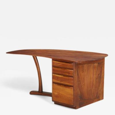 Wharton Esherick Wharton Esherick Single Pedestal Desk circa 1970