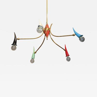 Whimsical Italian Ceiling Light
