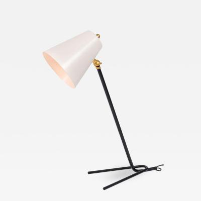 White Midcentury Style Italian Desk Lamp or Wall Light