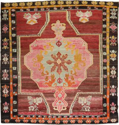 Wild Floral Traditional Turkish Rug rug no j1922