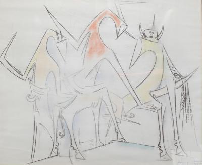 Wilfredo Lam Untitled I