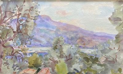 Wilfrid Gabriel De Glehn Untitled Landscape
