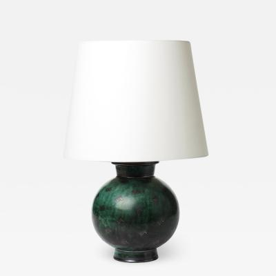 Wilhelm K ge Argenta table lamp by Wilhelm K ge