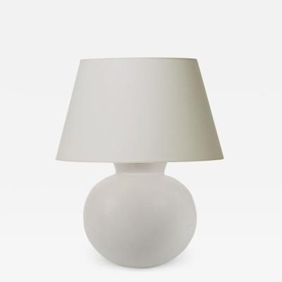 Wilhelm K ge Carrara Table Lamp in Pale Gray Ivory by Wilhelm K ge