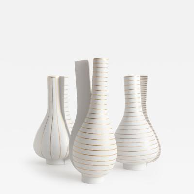 Wilhelm K ge SURREA VASES DESIGNED BY WILHELM K GE FOR GUSTAVSBERG SWEDEN