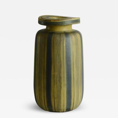 Wilhelm K ge Wilhelm Kage Monumental Farsta Vase 1940s