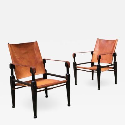 Wilhelm Kienzle Safari chairs by Wilhelm Kienzle for Wohnbedarf 1928