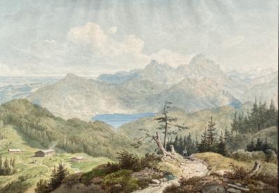 Wilhelm Rudol Scheuchzer Swiss View