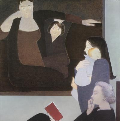 Will Barnet Three Generations