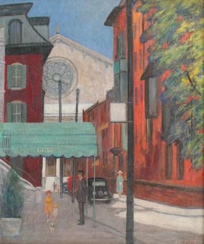 Will Coffee Rittenhouse Square at19th Street Philadephia