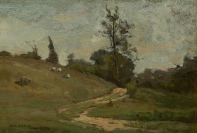 Willard Leroy Metcalf New England Landscape in Summer