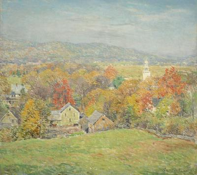 Willard Leroy Metcalf October Morning 1920