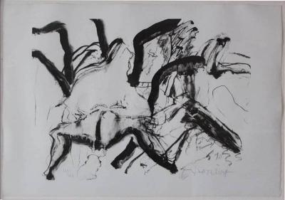 Willem De Kooning Willem de Kooning Lithograph Woman on Clearwater Beach