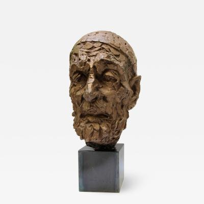 Willem Verbon Willem Verbon Kees Van Dongen ninety years old first bronze cast 1968