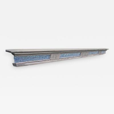 William Alburger Sleek Bespoke Mantel Shelf Headboard Floating Table