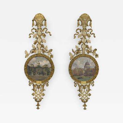 William Arthur Chase A Pair of Paintings by W A Chase In their Original Carved and Giltwood Frames