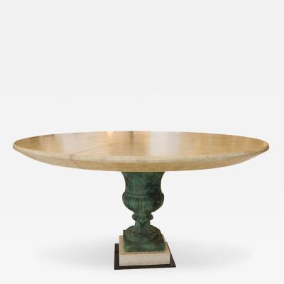 William Billy Haines Neoclassical Table with Original Finish by William Haines
