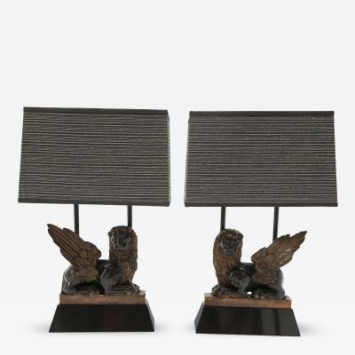 William Billy Haines Pair of Armature Table Lamps by William Haines