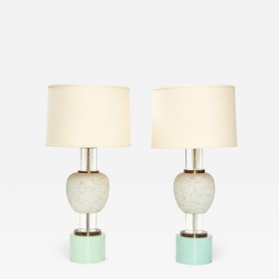 William Billy Haines Rare Pair of Custom Table Lamps by William Haines