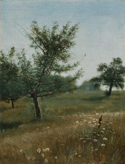 William Bliss Baker In the Orchard