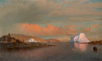 William Bradford Arctic Sunset