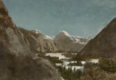 William Bradford Yosemite in Winter