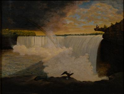 William Constable Niagara Falls with Table Rock
